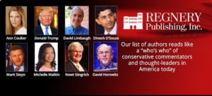 Here's some Regnery authors who engage in reality building